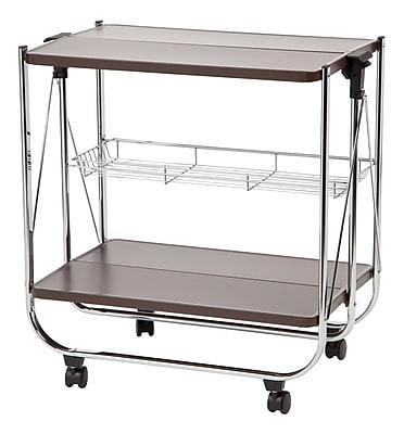 IRIS® Foldable Serving Cart, Brown