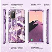 i-Blason Cosmo Series Purple Marble Case for Galaxy S20 (S20-COSMO-PUR)