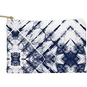 "DENY Designs Polyester Accessory Pouch, Shibori Tie-Dye, 6"" (64606-wpofsm)"