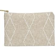 "DENY Designs Polyester Accessory Pouch, Geometric Boho Diamonds, 6"" (71645-wpofsm)"