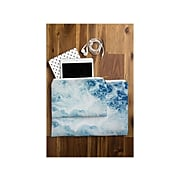 """DENY Designs Polyester Accessory Pouch, Sea, 6"""" (58027-wpofsm)"""
