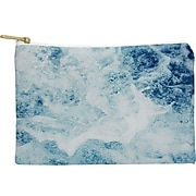 """DENY Designs Polyester Accessory Pouch, Sea, 8"""" (58027-wpofmd)"""