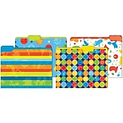 JAM Paper Dr Seuss File Folders, 4-Tabs, Letter Size, Assorted, 4/Pack (JIGCOCF16889)