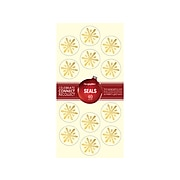 Geographics Silver & Gold Frost Seasonal Seals, Multicolor, 40/Pack (49185)