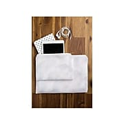 """DENY Designs Pastels Polyester Pouch, Gray, 6"""" (61901-wpofsm)"""