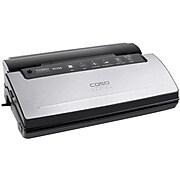 Caso Design Stainless Steel Vacuum Sealer, Silver/Black (11394)
