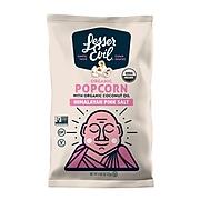 Lesser Evil Organic Popcorn, Himalayan Pink Salt, 8 oz., 18/Carton (LSN00141)