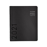 "2021 AT-A-GLANCE 8.25"" x 11"" Planner, Contempo, Graphite (70-950X-45-21)"