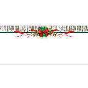 Geographics Pinecones & Ribbon Christmas Envelope, Multicolor, 35/Pack (49192)