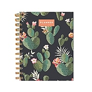 "2021 TF Publishing 7"" x 9"" Academic Planner, Best Life, Green/Black/Pink (21-5203)"