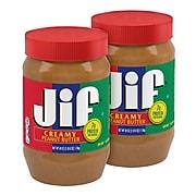 Jif Creamy Peanut Butter, 40 oz., 2/Pack (5150072001)
