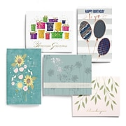 JAM PAPER Blank Message Card Sets, Occasion Assortment, 25/Pack (3095546)