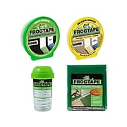 """FrogTape 0.94"""" x 60 yds., Painter Tape Set, Yellow/Green (FROGPACKL-STP)"""