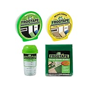 """FrogTape 1.41"""" x 60 yds. Painter Tape Set, Yellow/Green (FROGPACKM-STP)"""