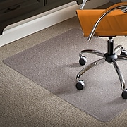"ES ROBBINS® Natural Origins® 46"" x 60'' Chair Mat for Low Pile Carpet, Biopolymer (ESR141052)"