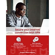 McAfee Safe Connect VPN for 5 Devices, Windows/Android/iOS, Download (MSC0AENR5RAAD)
