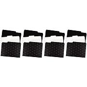 U Brands Modern Classic Fashion File Folders, 3-Tab, Letter Size, Assorted Colors, 12/Pack (3236U06-24)