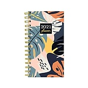 """2021 TF Publishing 3.5"""" x 6.5"""" Planners, Multicolor (21-7713)"""