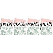 U Brands Modern Classic Fashion File Folders, 3-Tab, Letter Size, Assorted Colors, 12/Pack (3239U06-24)