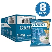 Quest Protein Chips, Ranch, 1.1 Oz., 8/Pack (307-00242)