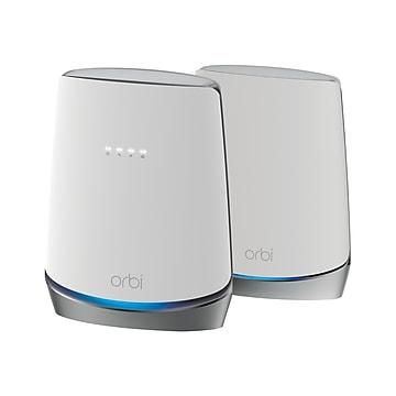 Netgear Orbi AX4200 Tri Band Wireless and Ethernet Router, White (CBK752-100NAS)