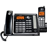 Motorola ML25255 2-Line Corded Phone, Black