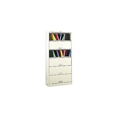 HON® Specialty 6-Shelf File with Receding Doors