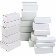 """Staples® White Crush-Proof Corrugated Mailers - 6"""" Length"""