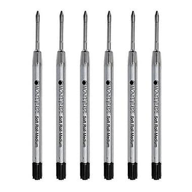 Monteverde® 6/Pack Medium Ballpoint Refills For Parker Ballpoint Pens