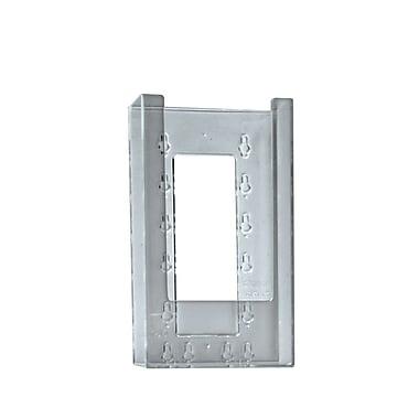 Azar Displays Modular Crystal Styrene Brochure Holder