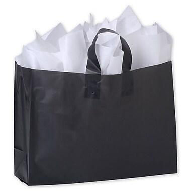 Sacs de magasinage givrés haute densité, 16 x 6 x 12 po, 250/paquet