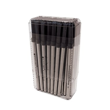 Monteverde® 50/Pack Medium Ceramic Rollerball Refill For Waterman Rollerball Pens