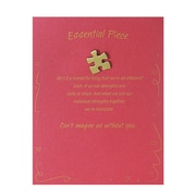 Baudville® Antiqued Brass Character Pins With Card