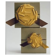 "4"" Satin Perfect Pull Bows, Gold, 50/Pack"