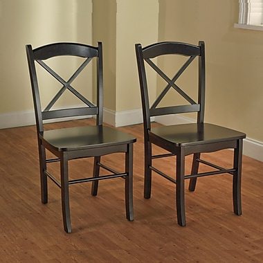 TMS Tiffany Rubberwood Dining Chairs