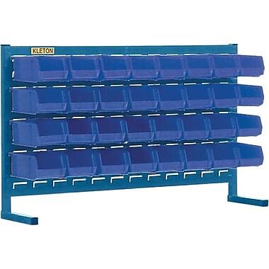 Kleton Louvered Bench Bin Racks, 32 Bins, 7-3/8