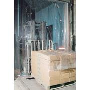 "KLETON Strip Curtain Doors, Low Temperature PVC, 12""W. Strips"