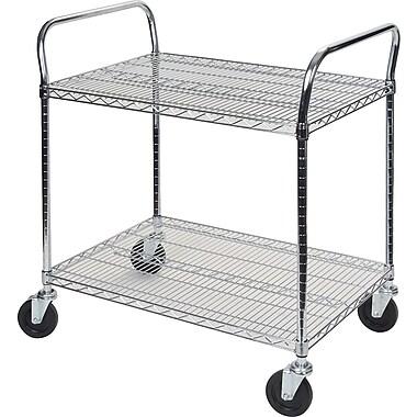 Kleton Utility Carts, 2 Shelves, 18