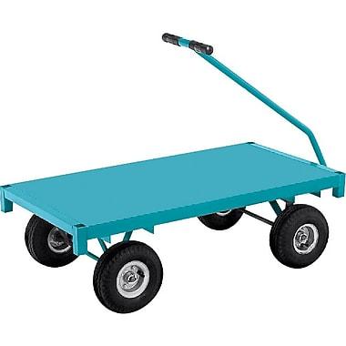 KLETON Ergonomic Platform Wagon Trucks, Steel Deck