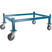 "KLETON Drum Stacking Rack Dollies, 6"" Polyurethane Wheel, 46""D."