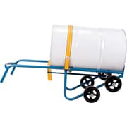 """KLETON All-in-one Drum Trucks, Dual Handle 10"""" Mold-on Rubber"""