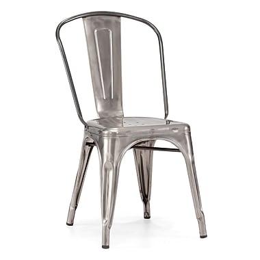 Zuo® Steel Elio Chairs