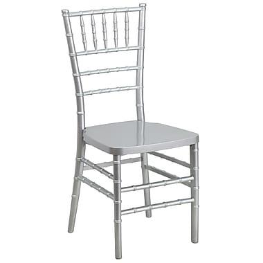 Flash Furniture 20/Pack 17.75''H Flash Elegance Resin Stacking Chiavari Chairs