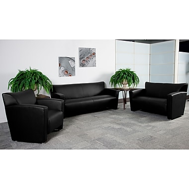 Flash Furniture Hercules Majesty Leathersoft Reception Set (222SET)