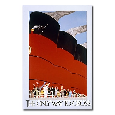 Trademark Fine Art 'RMS Queen Mary' Canvas Art