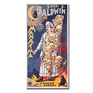 Trademark Fine Art Samri S.Baldwin the Whie Mahatma 1888' Canvas Art
