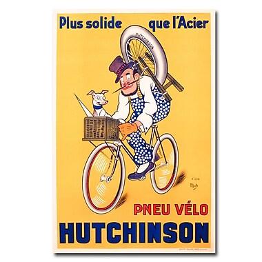 Trademark Fine Art Mitch Liebeaux 'Hutchinson Tires 1937' Canvas Art