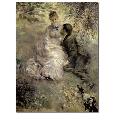 Trademark Fine Art Pierre Auguste Renoir 'The Lovers c.1875' Canvas A