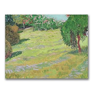 Trademark Fine Art Vincent Van Gogh 'Field in Sunlight' Canvas Art