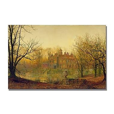 Trademark Fine Art John Grimshaw 'In Sere and Yellow Leaf' Canvas Art
